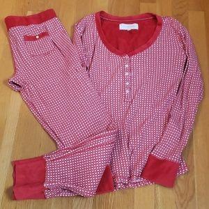Victoria's Secret thermal pajama set m